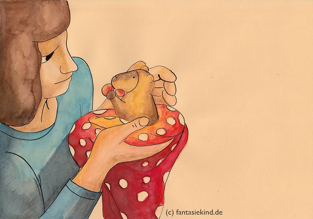 Kinderbuchillustration das Baumkänguru Geoffrey und Margit Cianelli