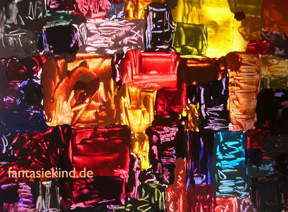 Malerei abstrakt fantasiekind
